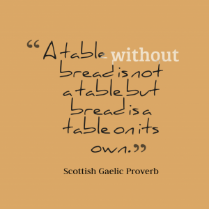 A-table-without-bread-is__quotes-by-Scottish-Gaelic-Proverb-68-612x612