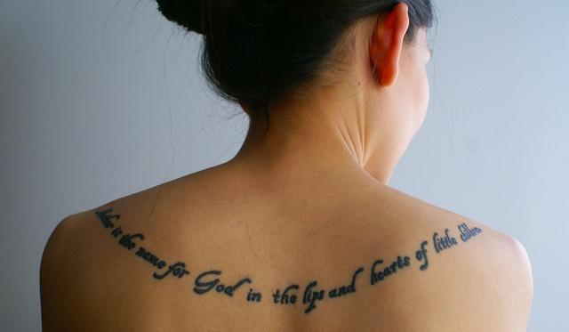 Thursday theology sunday everyday for Child of god tattoo